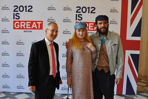Vivienne Westwood unveils new collection at British Ambassador's Residence in Paris | by UK in France