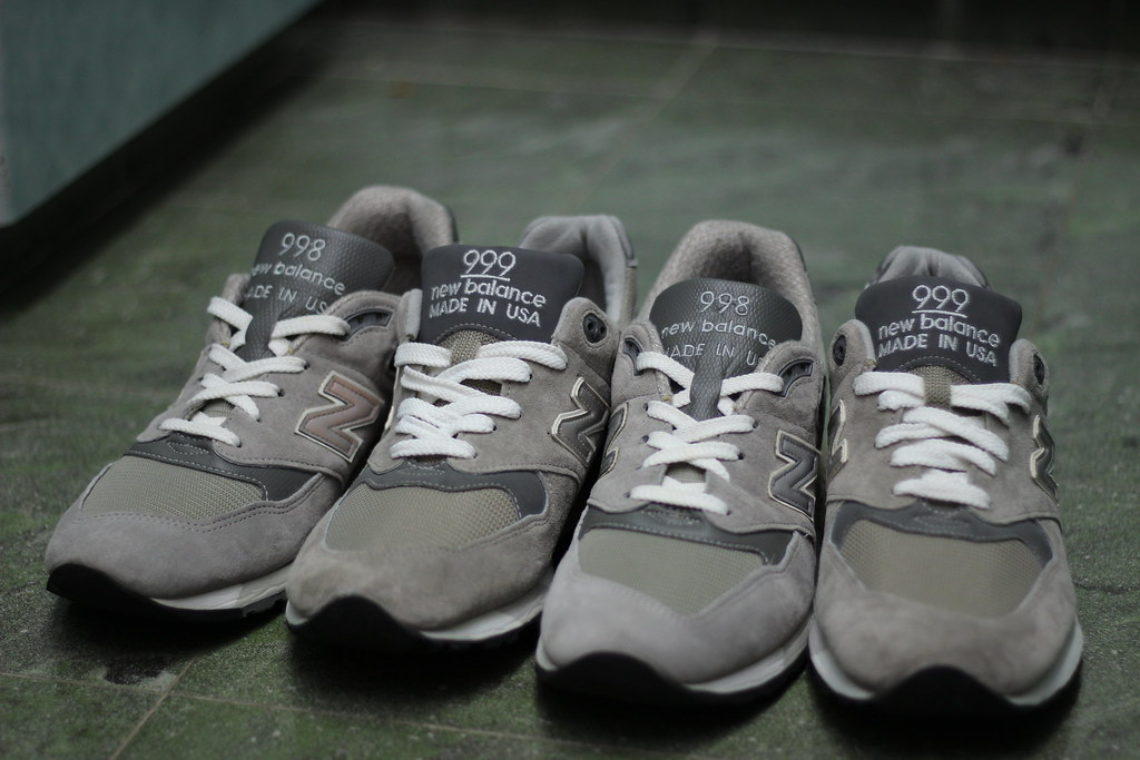 huge discount 6f12f abe0a New Balance 998 vs 999 Made In USA | pinkyy90 | Flickr