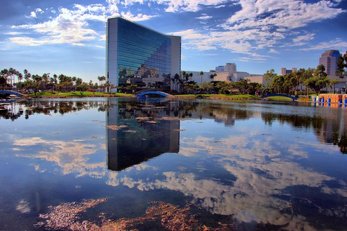 california sky building architecture clouds reflections events lagoon longbeachcalifornia explored 100comments rainbowlagoon rainbowlagoonpark flickrstruereflection2 flickrstruereflection4 flickrstruereflectionlevel1 flickrstruereflectionlevel5 00comments 2012lobsterfestival