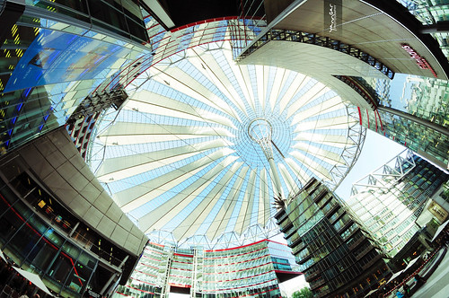 Inside Sony Center Berlin | by @YannGarPhoto
