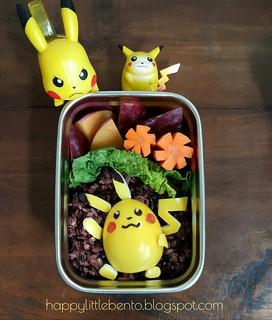 Pikachu Bento!   by sherimiya ♥
