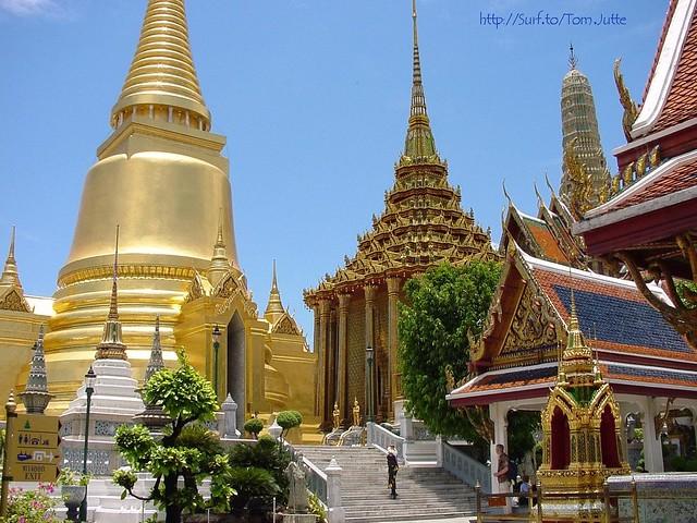 Wat Phra Kaeo Bangkok, Thailand - 2907