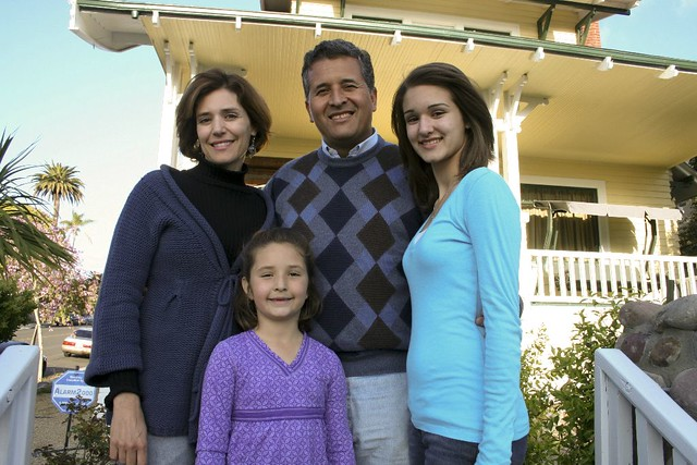 Juan with his family