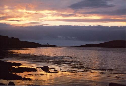 ireland sunset 35mm fujisuperia valentia