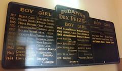 Dr Dawes medal Gawler Primary School