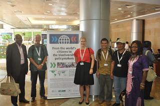 WWViews at COP 11 - Group photo