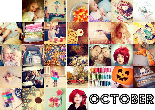 10. October Mosaic | by pinksuedeshoe