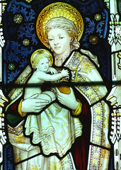 Blessed Virgin and Child by Kempe