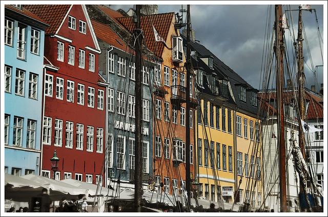 Copenhagen- le case sui canali