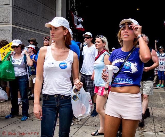 Simple Street Fashion Protestors