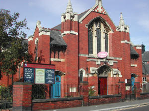 Yorkshire, DONCASTER, St Andrew's Methodist church