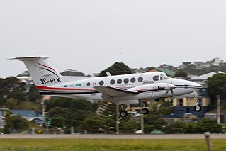 Beechcraft King Air B200C, ZK-PLK