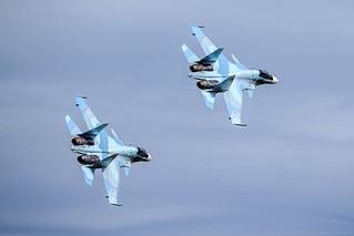 """Su-30SM """"Falcons of Russia""""   by RealHokum"""