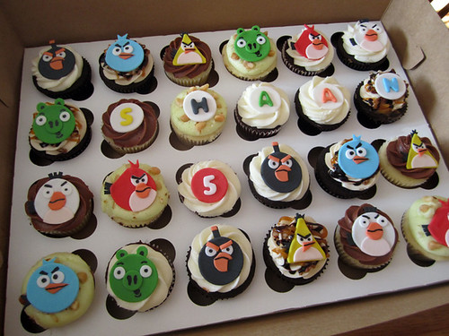 Angry Birds Birthday Cupcakes | by Cutie Cakes WY
