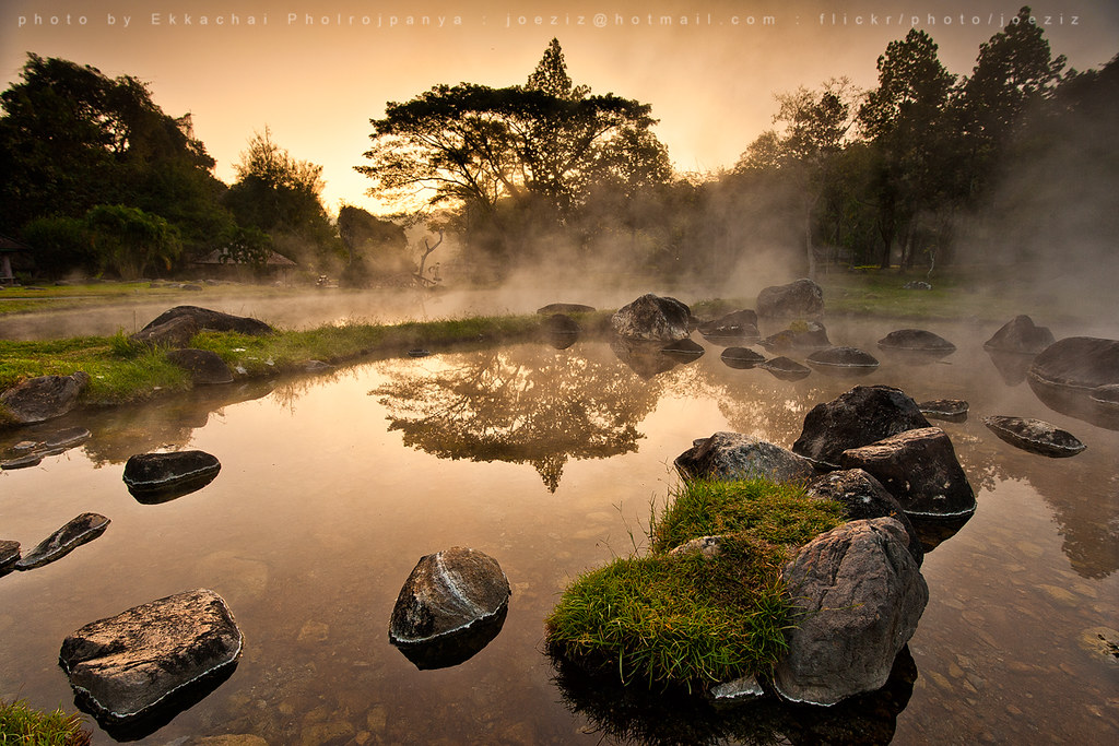 Chae Son National Park   beautieful morning hotspring at Cha…   Flickr