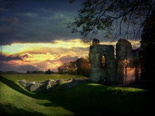 sunset castle texture ruin textures wiltshire textured earthworks ludgershall bestartever creativephotocafe