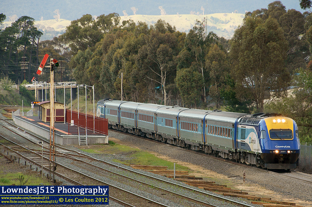 XPT at Broadford by LowndesJ515