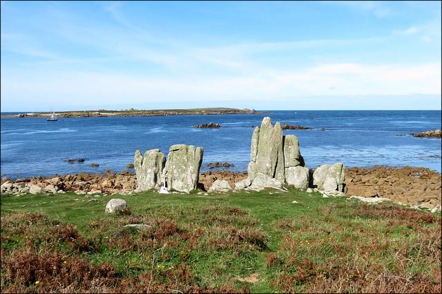 The west coast of St Agnes