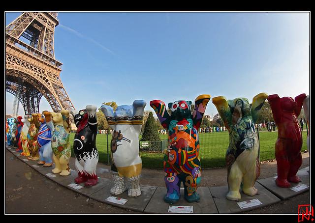 United Buddy Bears à Paris 8/9