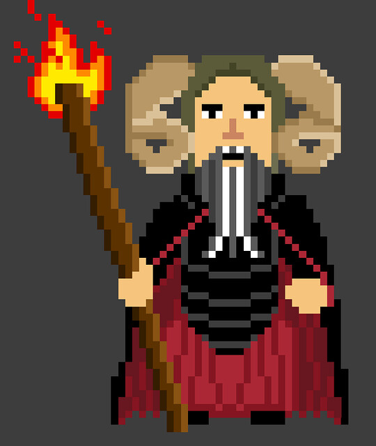 Tim the Enchanter - Monty Python and the Holy Pixel