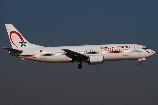 Boeing 737-400 Royal Air Maroc (RAM) CN-RMG - MSN 27679/2734