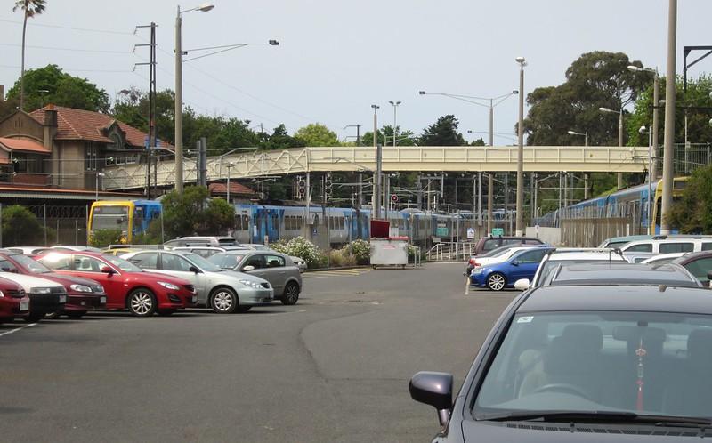 Car park, Camberwell station