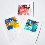 Nijiiro Calendar 2013 (2012) 297×420mm (attached painting 200x200mm)