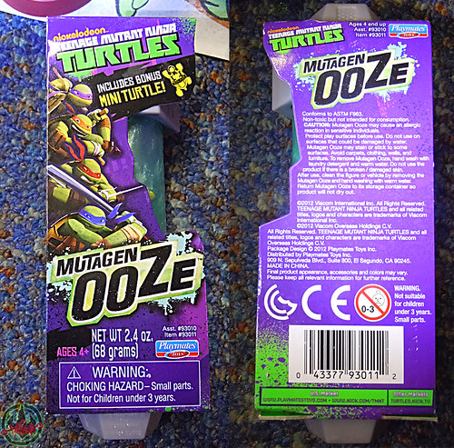 Nickelodeon  TEENAGE MUTANT NINJA TURTLES :: MUTAGEN OOZE viii (( 2013 )) by tOkKa
