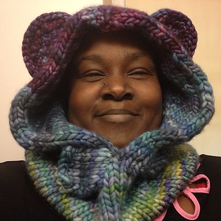 Bluebeary Cowl is finished! #knit #malabrigo | by Dionne the Tea Priestess