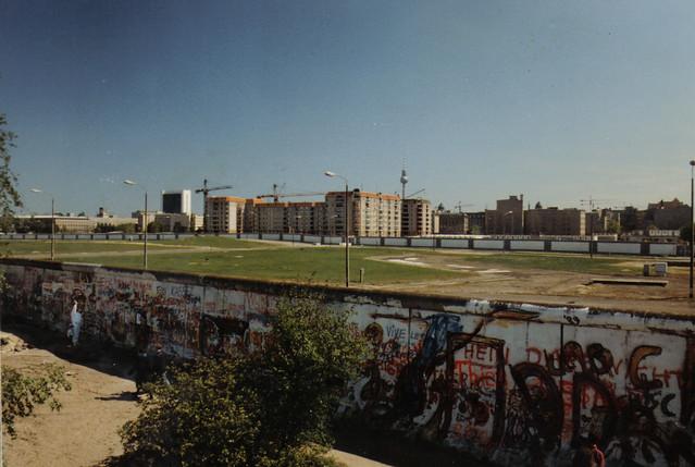 Berlin Wall, May 1989.