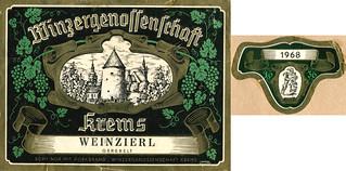 Austria - 1968 Winzer Krems Weinzierl