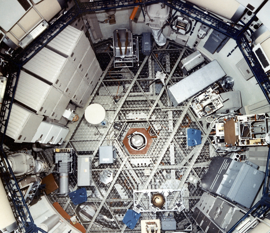 Skylab Orbital Workshop From Above Nasa Archive 05 1 72