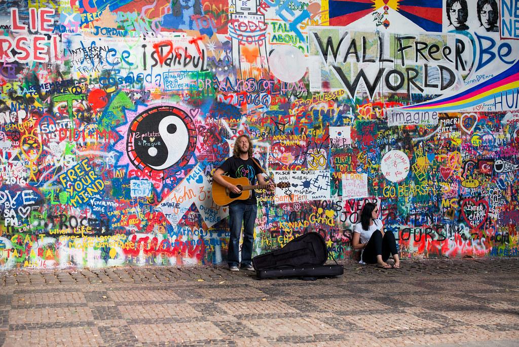 Prague: John Lennon Wall