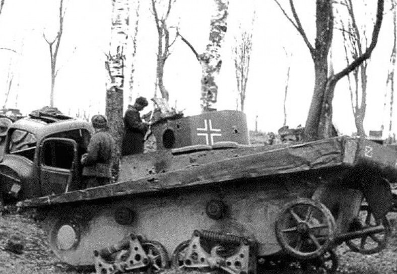 Советский танк-амфибия Т-37А