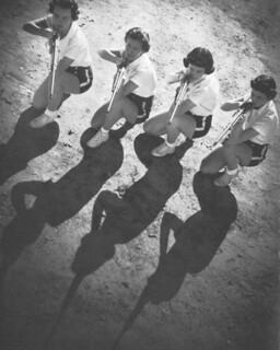 Pomona College riflery competitors in 1939