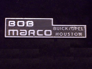 Bob Marco Buick Opel Houston