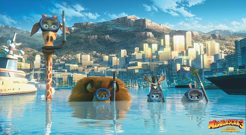 Madagascar 3 Flucht durch Europa