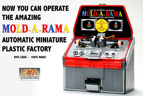 LEGO - MOLD-A-RAMA by V&A Steamworks | by V&A Steamworks - Guy HImber
