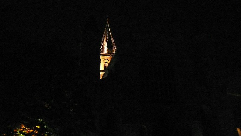 Cathedral, Rochester, Nightview