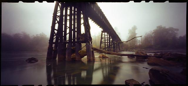 Railroad Bridge (Pinhole)