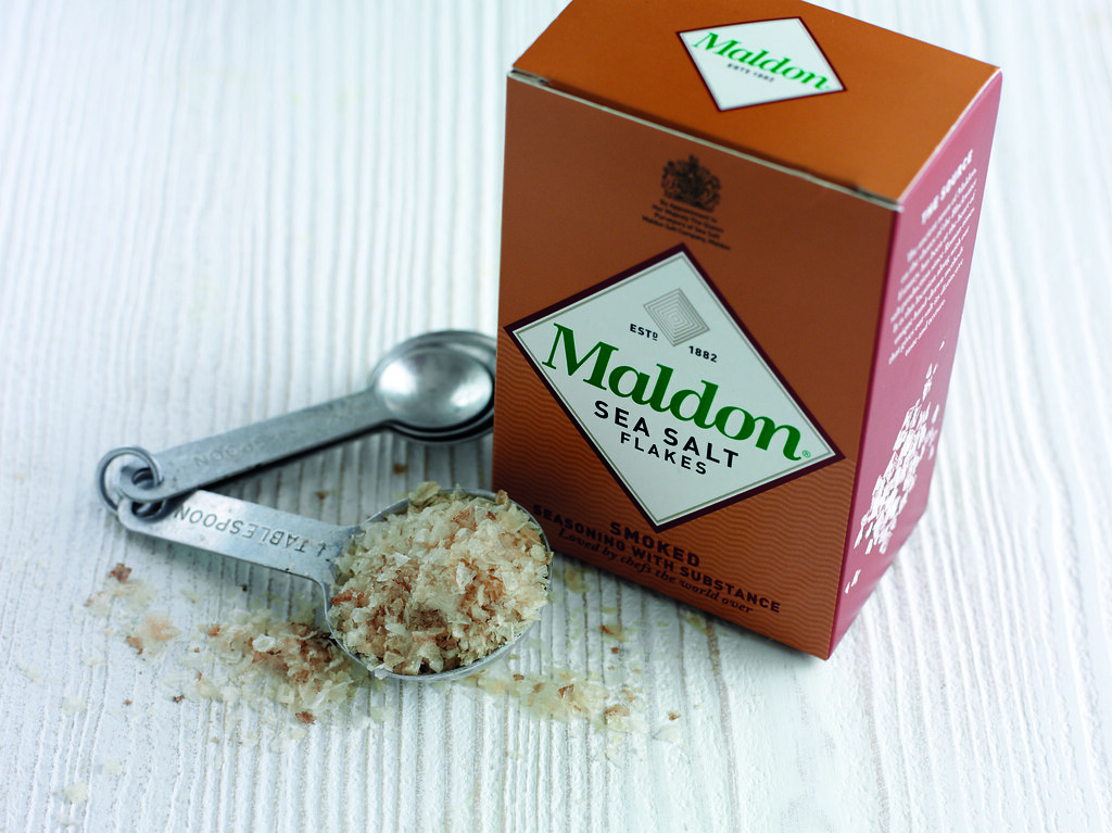 Maldon Smoked Sea Salt lifestyle landscape | Maldon Smoked S