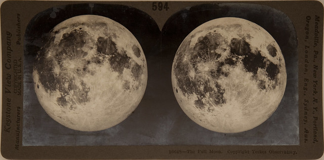 16648 - The Full Moon, Yerkes Observatory