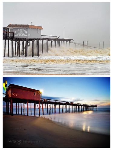 usa pier fishing md october unitedstates maryland oceancity oc 2012 hurricanesandy