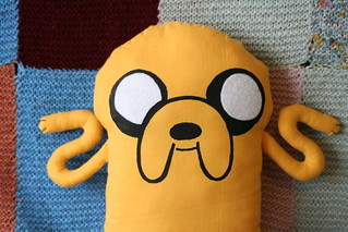 Handmade Plush Jake from Adventure Time | by English Girl at Home