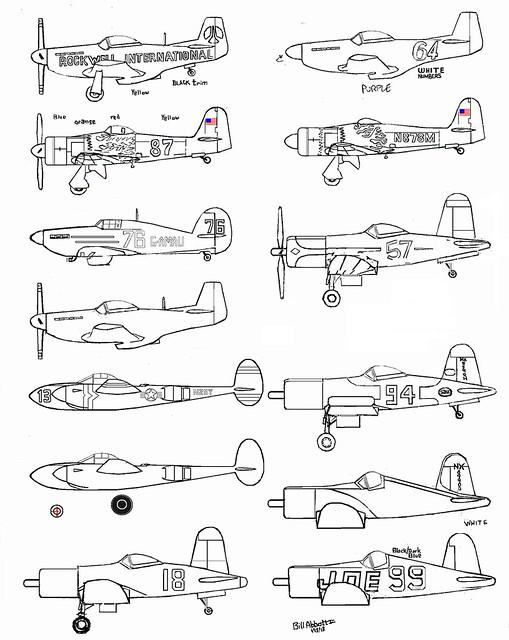racing Plane Coloring Book Update #6