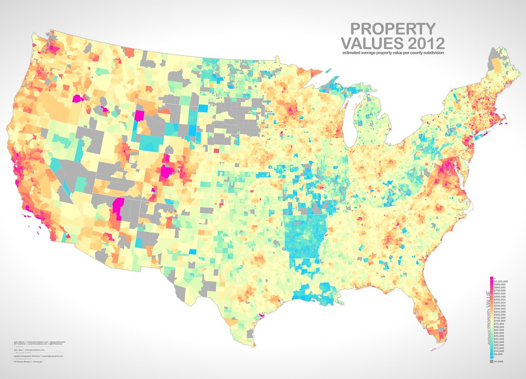 Property Values Map PropertyValue | One map in a collection, looking at income, … | Flickr