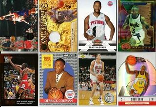 #3-BASKETBALL SPORTS CARD LOT