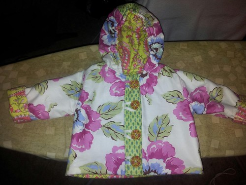 Baby in the hood jacket