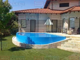 Fontos eleme az úszómedencéknek a beton.