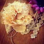 #オシャレ#手芸部#ハンドメイド#flower#きなり#cute#fashion#handmade#tochigi#sakurashi#espoir